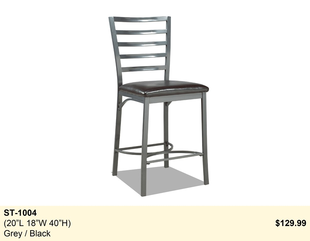 Bar stools tables accessories in calgary furniture for for Furniture for less